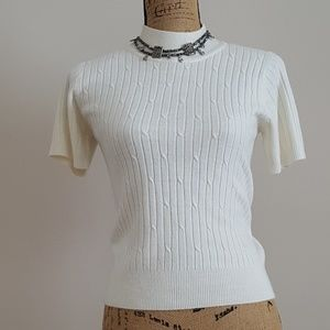 Villager Mock Neck Sweater